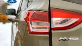 Готовься к зимним приключениям з новым Ford Kuga.