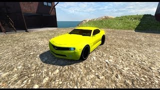 BeamNG Mod : Chevrolet Camaro Beta