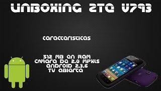 Unboxing ZTE V793Unefon|