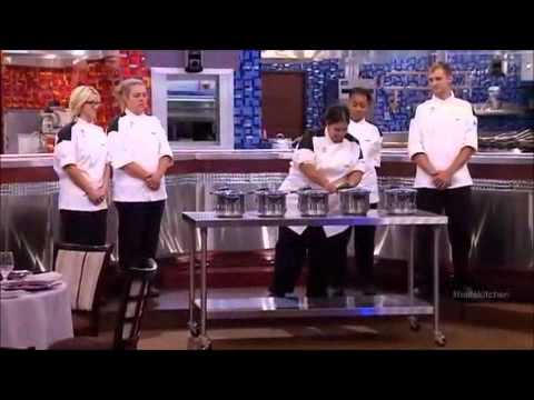 the 150th episode of 'Hell's Kitchen' with cheftestant Susan Heaton