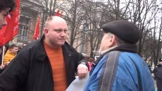 """Protest al socialiștilor: """"Stop prihvatizarea"""""""