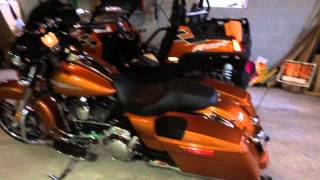 2014 Amber Whiskey Harley Davidson Street Glide Boom Audio