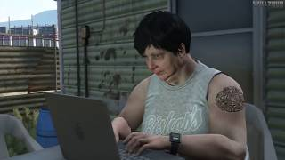 Grand Theft Auto V Maude / Bail Jumpers (100% Gold Medal