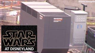 Disneyland - 1/16/18 Star Wars: Galaxy's Edge Construction Update
