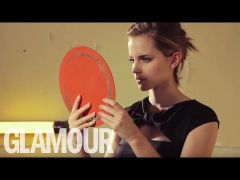 Emma Watson Cover Shoot for Glamour Magazine, Emma Watson Cover Shoot for Glamour SUBSCRIBE HERE: http://bit.ly/W6aASQ We go behind the scenes on GLAMOUR Award-winner Emma Watson's October 2012 cover sho...