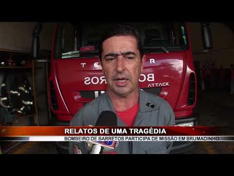 01/03/2019 - Bombeiro de Barretos participa da Missão em Brumadinho