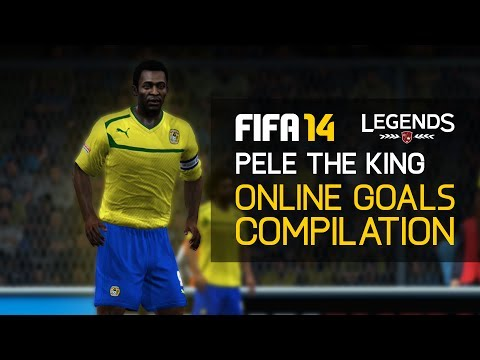 FIFA 14 - ''Pelé The King'' Online Goals Compilation