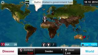 MY ZOMBIE APOCALYPSE! Let's Play Plague Inc On PC:Necroa Virus