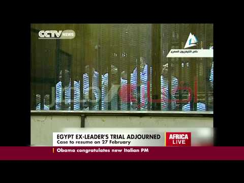 Egypt Ex Leader's Trial Adjourned