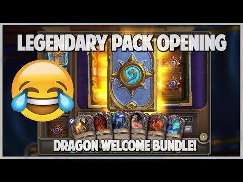 Legendary Pack Opening   Best Starter Bundle Ever   Insane Hearthstone