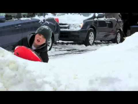 This is our Olympic spoof featuring a made up sport called Skelesledding