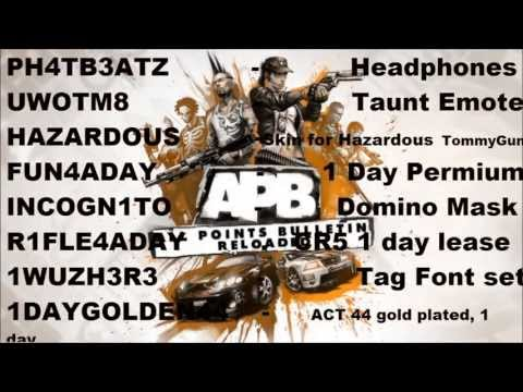 APB: Reloaded - 1.8.0 Weapon Skins