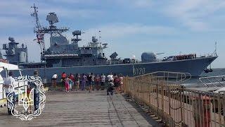 Фрегат U130 «Гетьман Сагайдачний» ВМС ЗСУ покидає ЗВМБ. Одеса