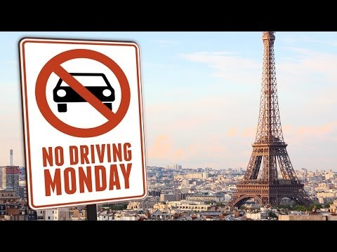 Cars and Motorcycles Banned in Paris