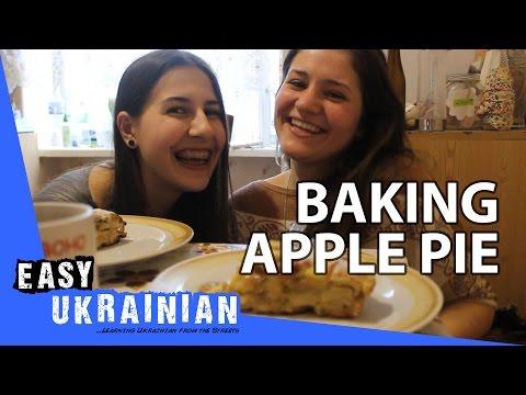 Baking apple pie - Easy Ukrainian 11