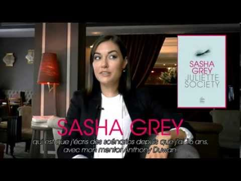 Interview de Sasha Grey à l'occasion du lancement de
