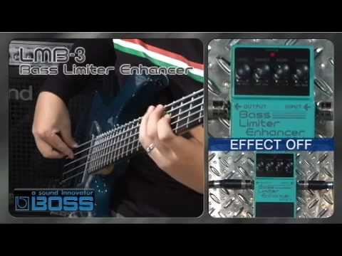 Boss LMB3 Bass Limit & Enhance Guitar FX Stompbox