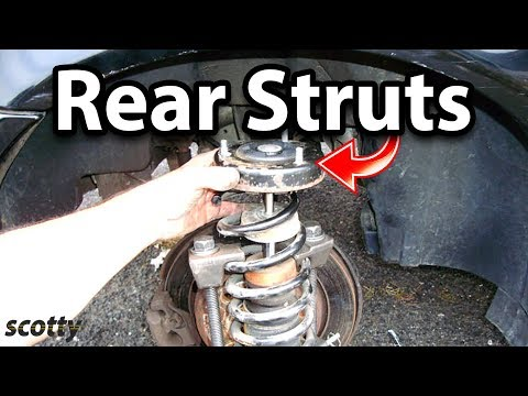Replacing Bouncing Rear Struts On Your Car