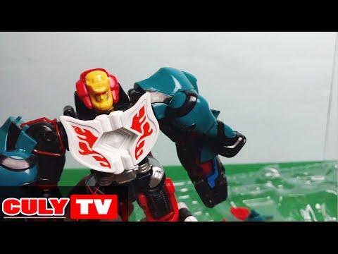 Robot siêu nhân mãnh thú phần 2 tay voi mình khỉ Juken Sentai Gekiranger - GekiFire GekiElephantFire