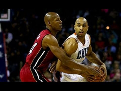 Gerald Henderson Denies Udonis Haslem at the Rim!