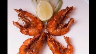 Crispy Fried Shrimp - Prawns with Shell on ..