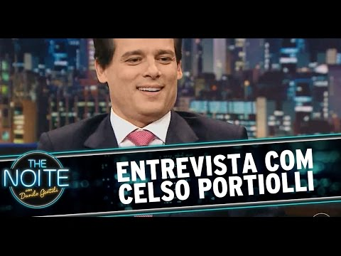The Noite 10/07/14 (parte 1) - Entrevista Celso Portiolli