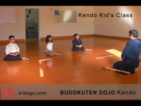 Butokuden dojo kendo practice kids kendo class youtube for Kendo dojo locator