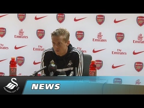 Swans TV - Reaction: Monk on Arsenal Draw