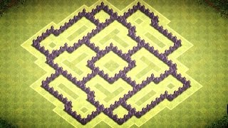 Clash Of Clans TH 7 Trophy Base/Clan Wars Base