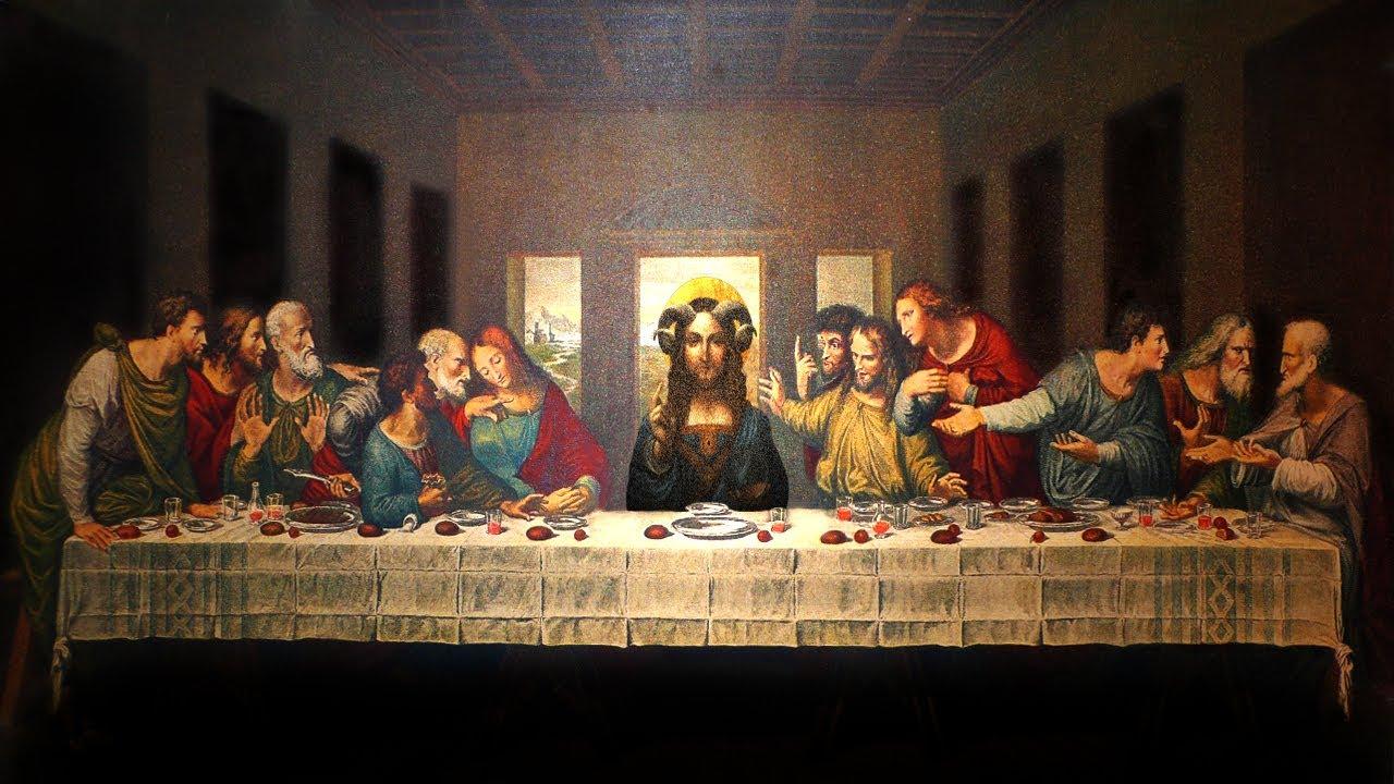 Last supper dining room