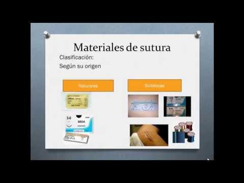 materiales de sutura
