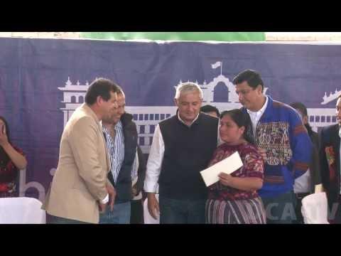 Mujeres de Quiché reciben Bono Seguro