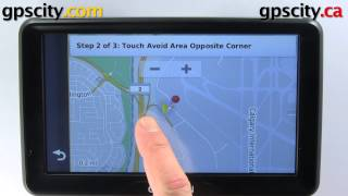 Garmin Nuvi 2797LMT: Navigation Settings With GPS City