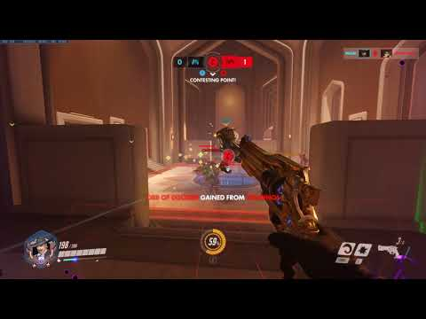 Smooth HeadShot on Tracer - Overwatch
