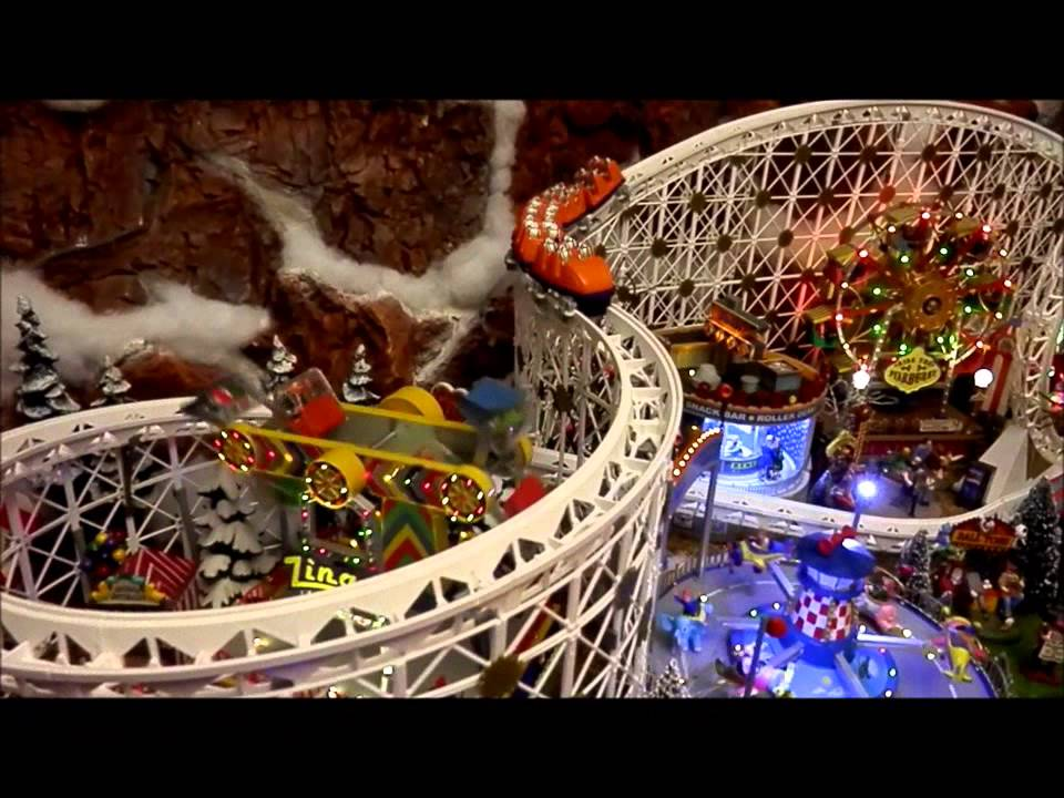 Department 56 Amp Lemax Christmas Village 2012 2013 Youtube