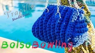 Bolso Bowling De Trapillo Tutorial DIY Crochet XXL