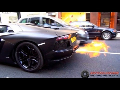 The LOUDEST Lamborghini in LONDON!!!