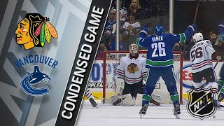 02/01/18 Condensed Game: Blackhawks @ Canucks