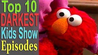 Top 10 Darkest Kids Show Episodes (ft. BlameitonJorge)