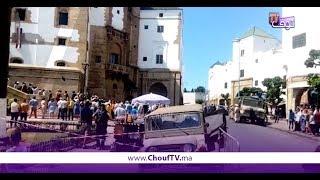 فيديو حصري.. استخدام معدات عسكرية في تصوير فيلم سوري وسط حي الحبوس بالبيضاء | قنوات أخرى