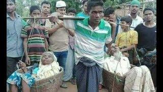 Sự thật rơi nước mắt sau bức ảnh con trai gánh cha mẹ đi bán khiến dân mạng dậy sóng