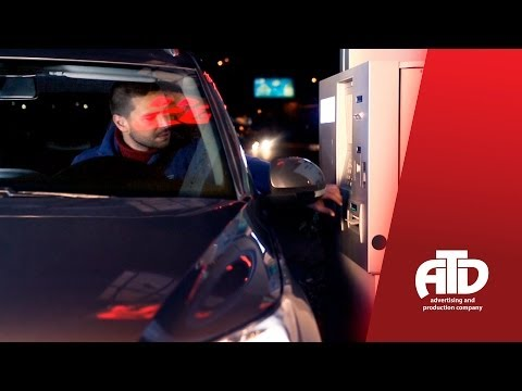 ACBA-CREDIT AGRICOLE BANK / ATM in Gas Station (TV Commercial)