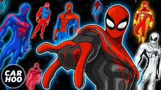 THE ULTIMATE SPIDER-MAN PARODY!!! Over 20 Spideys 【Into the Spider-Verse Parody】