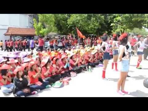 กองเชียร์กีฬาสีแดง วิทยาลัยเทคนิคพัทลุง  2557