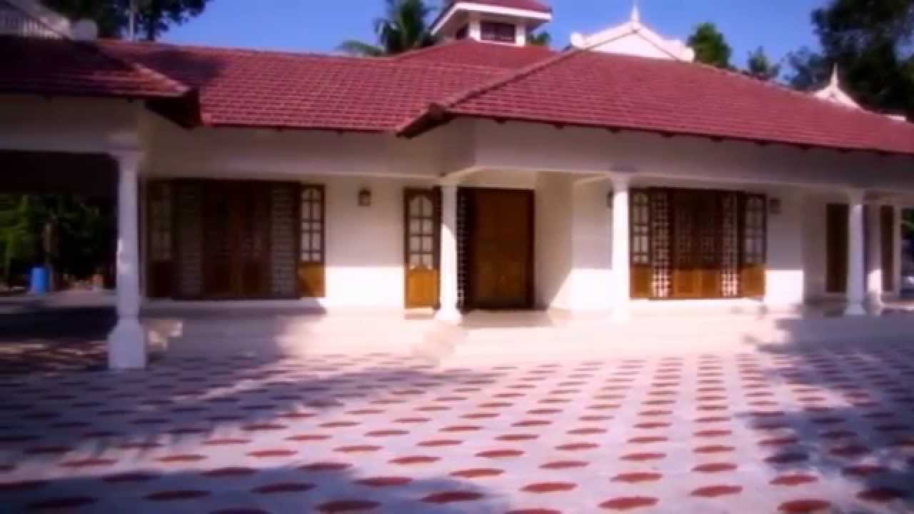 My dream house kerala style sigle floor youtube for Dream home kerala