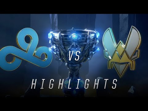 C9 vs VIT - Worlds Groups Stage Day 5 Match Highlights (2018)