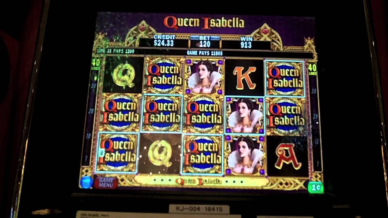 slot machine queen