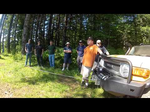 Warn Winch Training Session! - Oregon - July 8, 2012