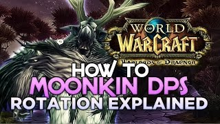 Warlords Of Draenor How To Balance Druid/Moonkin DPS