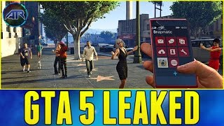 GTA V PS4 GAMEPLAY LEAKED!!! (Grand Theft Auto 5 PS4